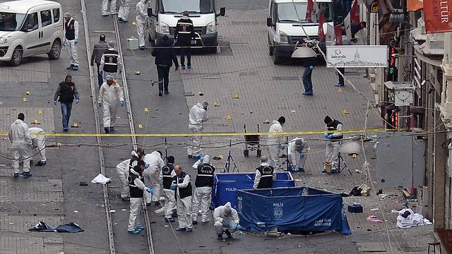 Scene of the attack (Photo: AP)