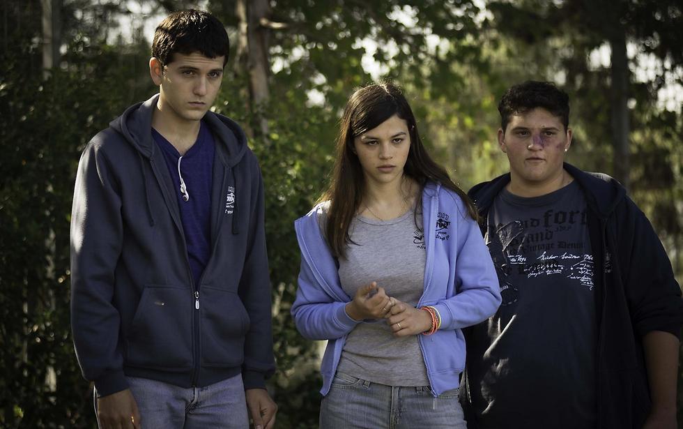 נוה צור, נוי ריגר ורועי ניק. מסדרות נוער לריאליזם על המסך הגדול (צילום: רן מנדלסון) (צילום: רן מנדלסון)