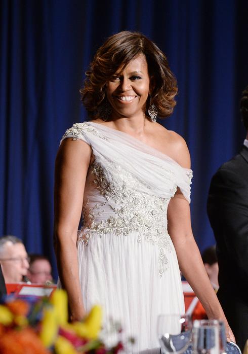 כמה כסף היא מוציאה כדי להשיג שיער חלק? מישל אובמה (צילום: gettyimages)
