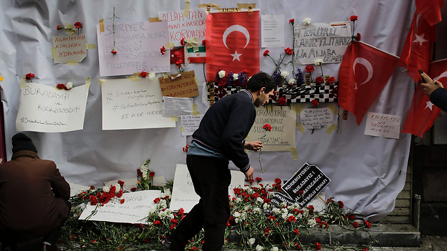 """The scene of the deadly Istanbul attack. """"We must condemn terrorism everywhere."""" (Photo: AFP)"""