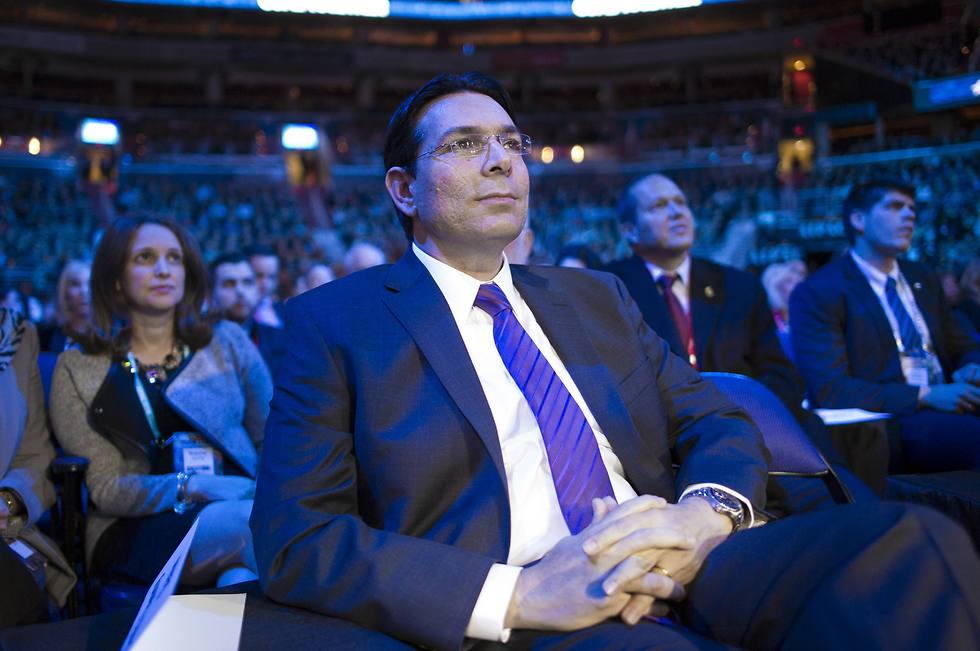 UN Ambasador Danon. Condemned the decision. (Photo: AP)