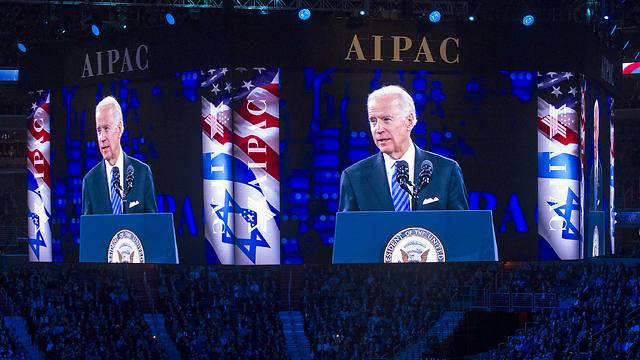 Joe Biden speaks at AIPAC conference (Photo: AP)