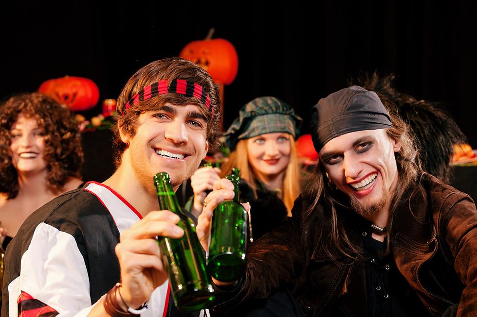צאו למסיבה טובה והראו לאנשים את אופייכם האמיתי (צילום: Shutterstock) (צילום: Shutterstock)