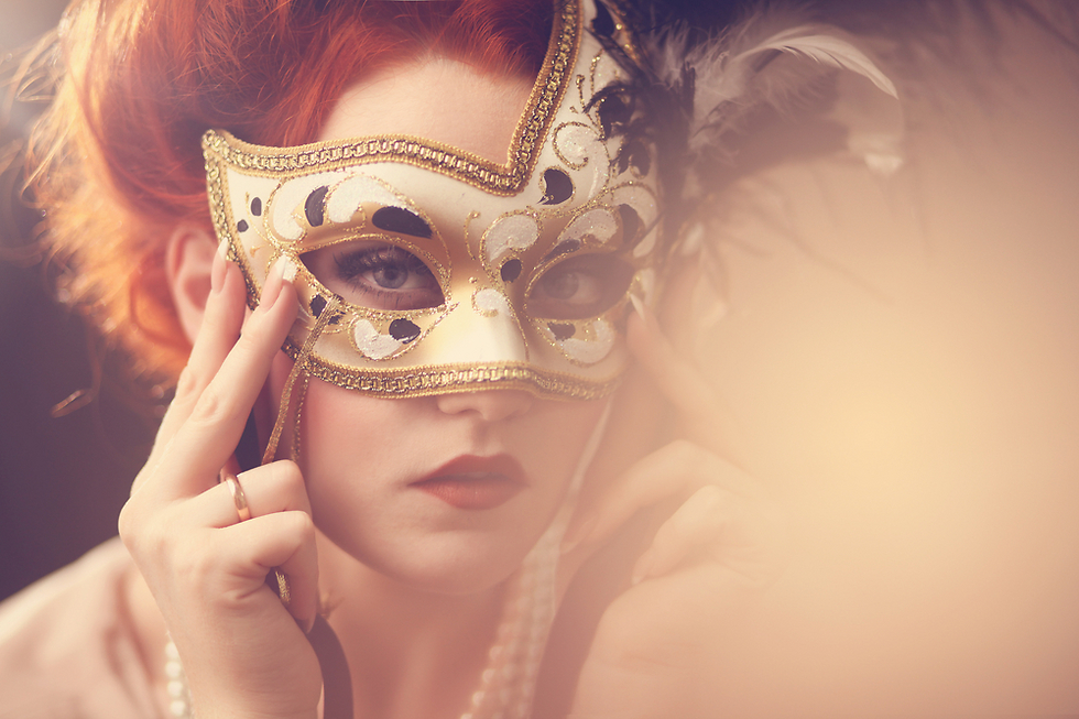 מסכה מחמיאה תגרום לאנשים להמשך אליכם (צילום: Shutterstock) (צילום: Shutterstock)