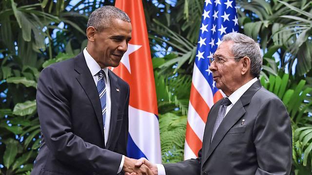 ושנתיים אחר כך בקובה (צלום: AFP) (צלום: AFP)