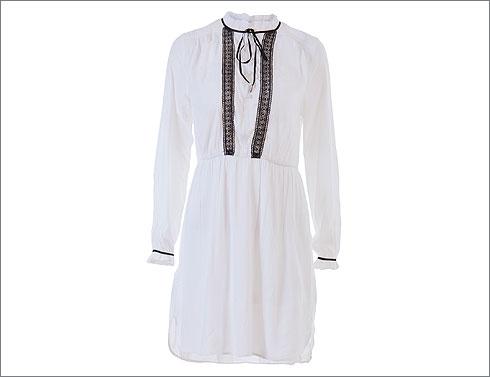 שמלת טוניקה לבנה, 250 שקל (צילום: שי פרנקו)