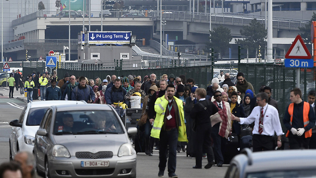 Brussels Airport, Photo:AFP