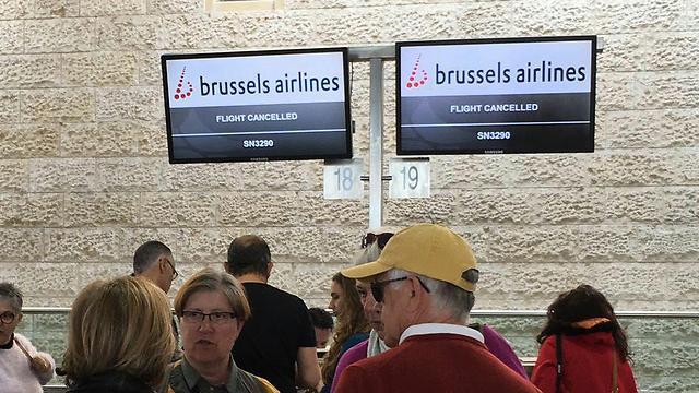 ביטולי טיסות של בריסל איירליינס (צילום: דני שדה) (צילום: דני שדה)
