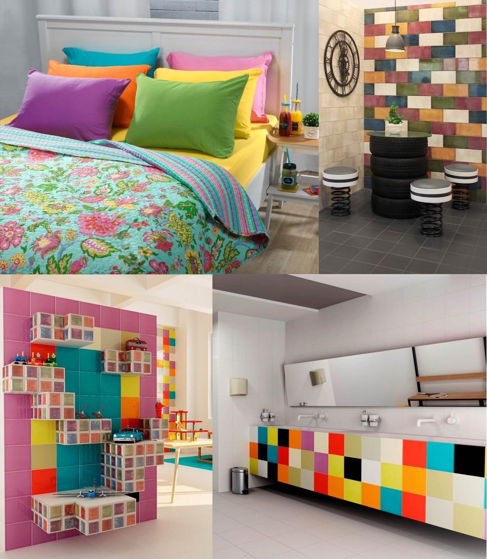 שילוב אלמנטים צבעוניים והומוריסטיים. חללים מעוצבים לאלוני ול-H&O ()