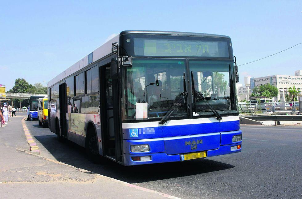 """האוטובוסים בארץ מרעישים הרבה יותר מאשר בחו""""ל (צילום: גיל לרנר) (צילום: גיל לרנר)"""