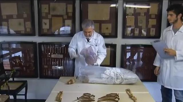 Josef Mengele's remains, Photo: YouTube