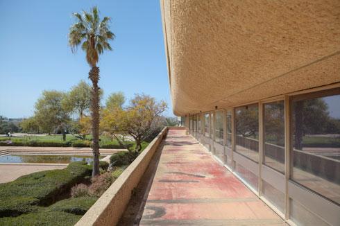בפנים: הספרייה המרכזית באוניברסיטת תל אביב (צילום: עמרי טלמור)