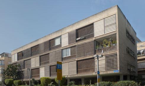 הבניין ברחוב שמריהו לוין 17 פינת רחוב הנביאים. ברשימה (צילום: עמרי טלמור)