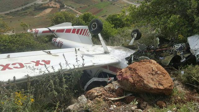 BG Munir Amar's crashed plane on Mt. Kamon (Photo:Northern Division Firefighters Spokesperson)