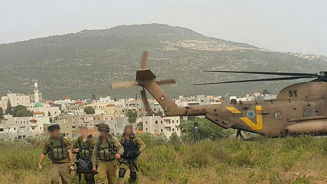 Air force search and rescue unit 669 at Mt. Kamon