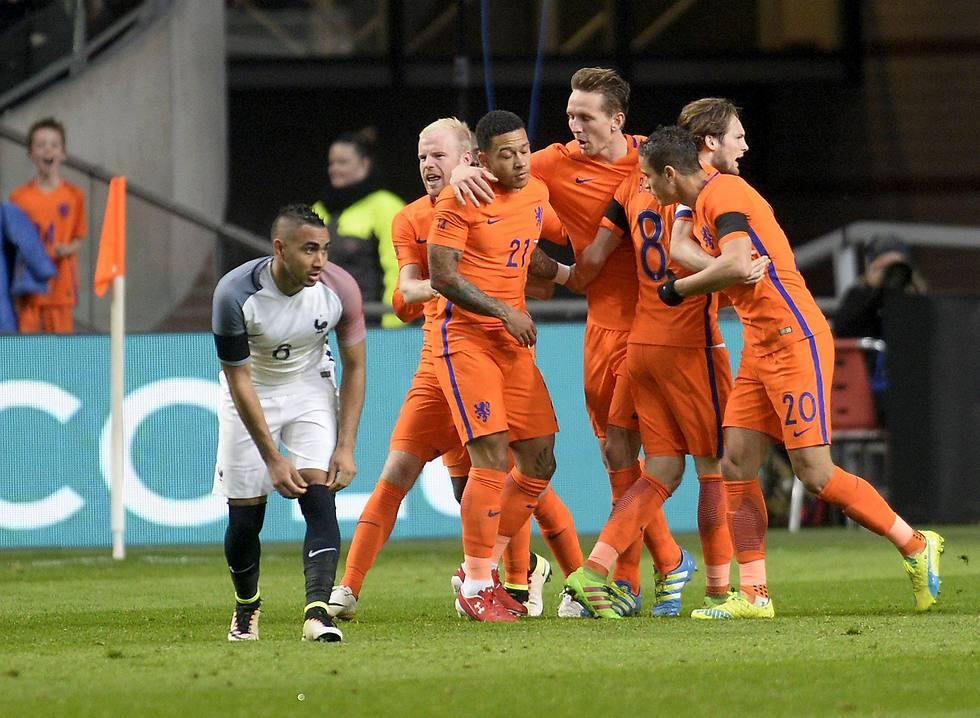 נבחרת הולנד (צילום: רויטרס) (צילום: רויטרס)