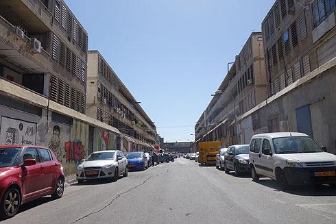 ''הפרויקט עמד יפה במבחן הזמן'', אומר הופמן על קרית המלאכה בדרום העיר (צילום: מיכאל יעקובסון)