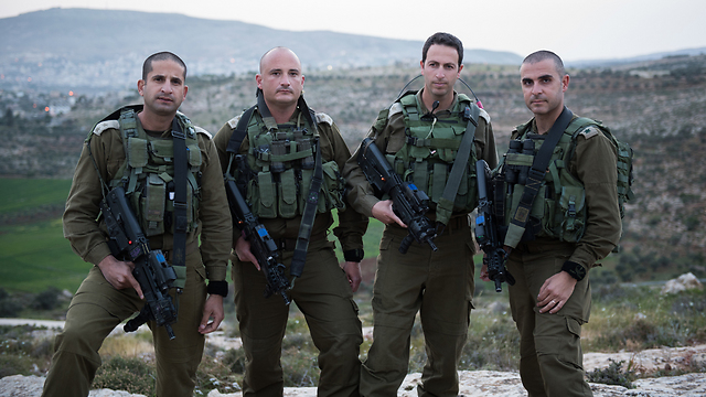 Heads of the Judia and Samaria Division (Photo: IDF Spokesperson's Unit)
