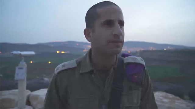 Head of the Givati Battalion in the West Bank (Photo: IDF Spokesperson's Unit)