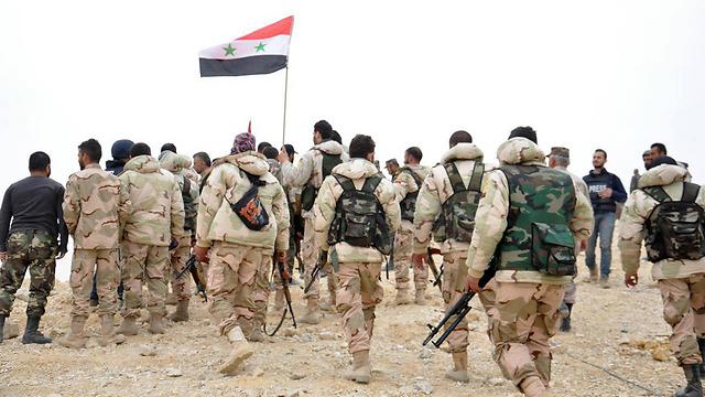 Les forces syriennes à Palmyre (Photo: AP)