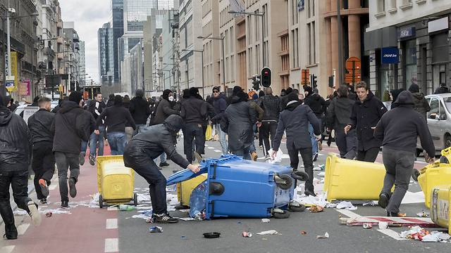 ISIS protest in Brussels (Photo: MCT) (Photo: MCT)