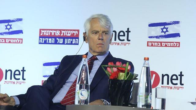 שגריר האיחוד אנדרסן בוועידה (צילום: מוטי קמחי) (צילום: מוטי קמחי)