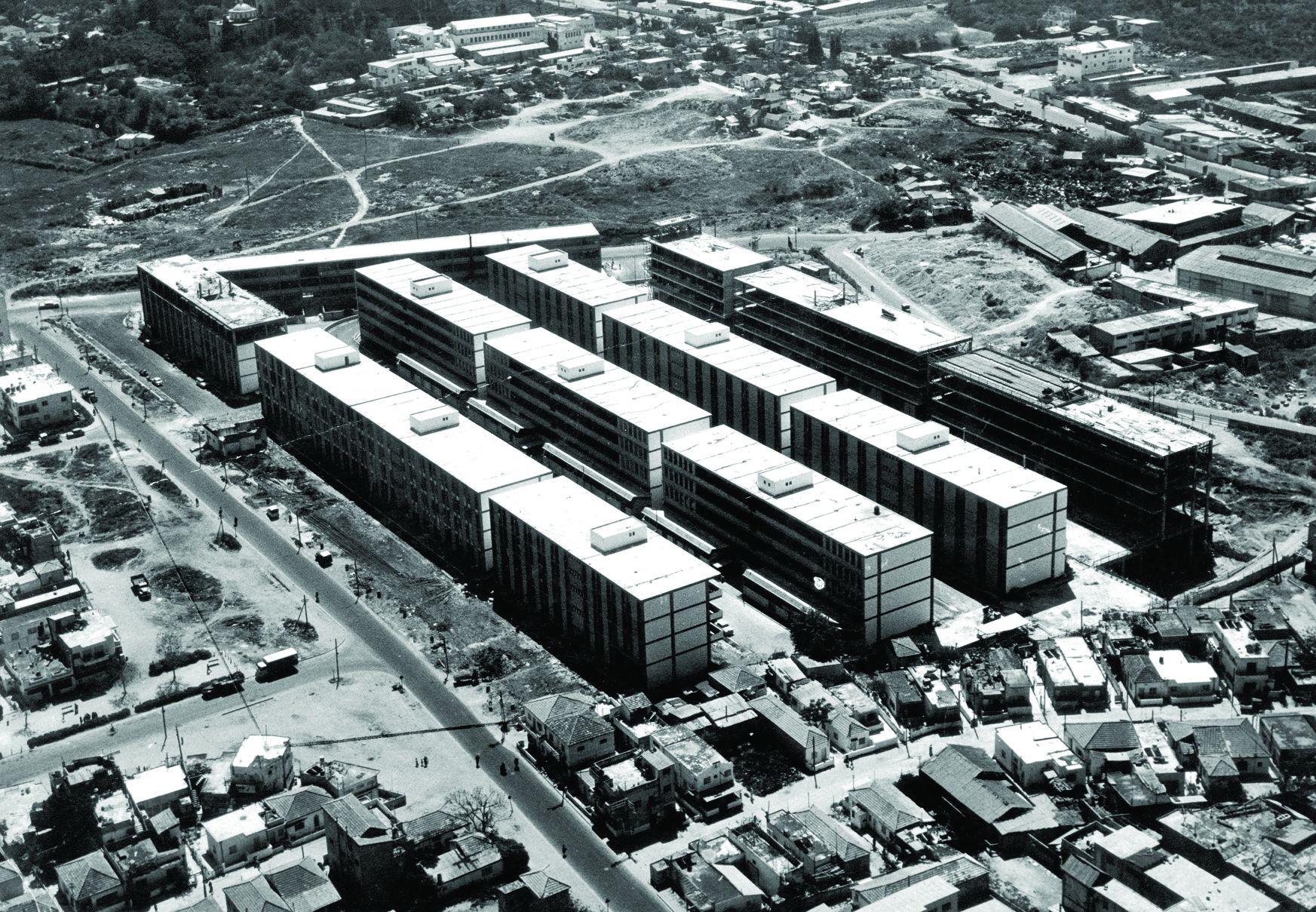 השנים הראשונות (צילום: צילום ארכיון משרד האדריכלים רפופורט)