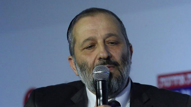 Interior Minister Aryeh Deri (Photo: Motti Kimchi)