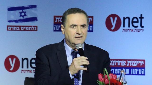 Transportation and Intelligence Minister Yisrael Katz (Photo: Motti Kimchi)