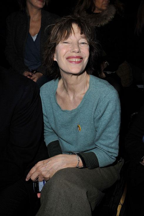 בלי פוטושופ: ג'יין בירקין בתצוגה של הרמס, 2010 (צילום: gettyimages)