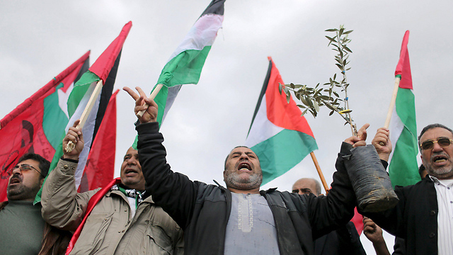 Palestinians mark Land Day in Gaza (Photo: Reuters)