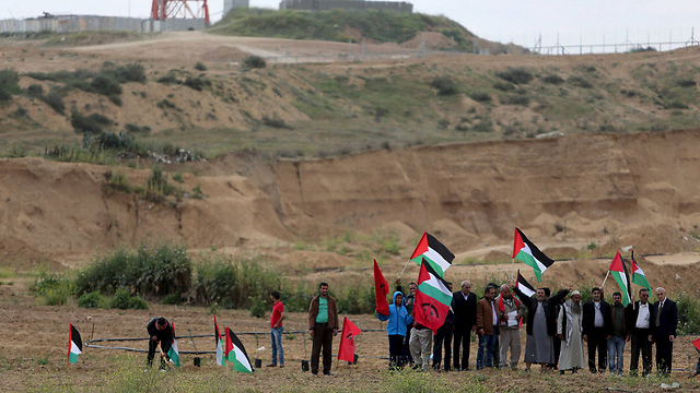 Land Day marked in Gaza (Photo: Reuters)