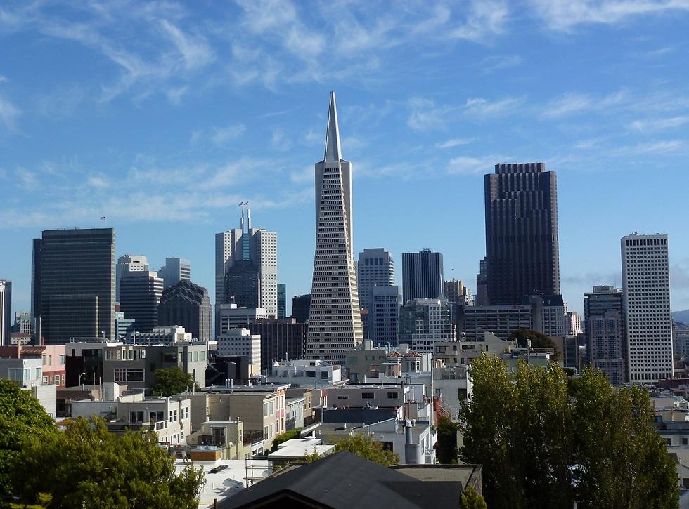 קו הרקיע של סן פרנסיסקו (צילום: סיגלית בר, bartravel)