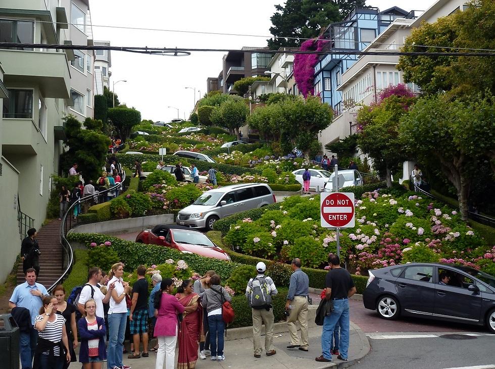רחוב לומברד (צילום: סיגלית בר, bartravel)