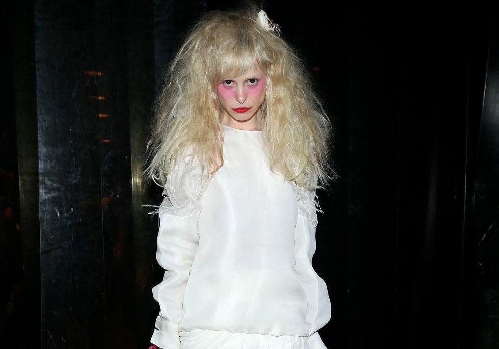 מגדירה את עצמה כאזרחית העולם. מלר בשבוע האופנה בניו יורק (צילום: gettyimages)