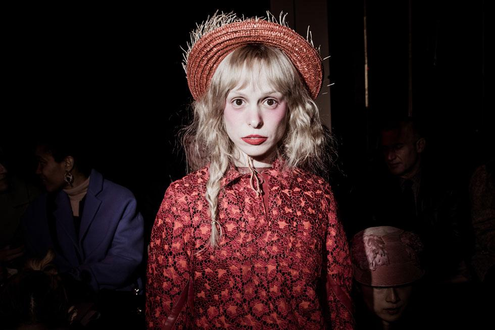 שבוע האופנה בפריז הוא מגרש המשחקים שלה. פטיט מלר (צילום: gettyimages)