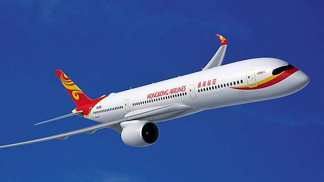 Лайнер Hong Kong Airlines. Фото: пресс-служба компании