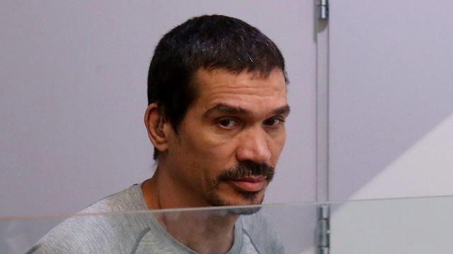יצחק אברג'יל בבית המשפט (צילום: מוטי קמחי) (צילום: מוטי קמחי)