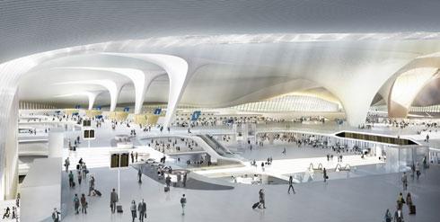 איפה נמצאים שדות התעופה היפים ביותר בעולם? לחצו על התמונה (הדמיה: זאהה חדיד)
