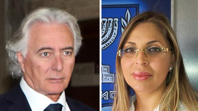 עורכי הדין שני אילוז וציון אמיר (צילום: עוז מועלם) (צילום: עוז מועלם)