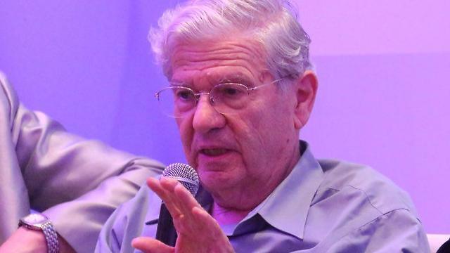 נשיא בית המשפט העליון לשעבר אהרן ברק  (צילום: מוטי קמחי) (צילום: מוטי קמחי)