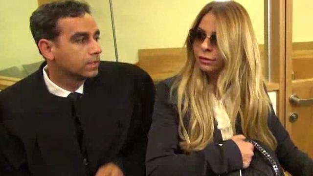 ענבל אור בדיון בבית המשפט, הבוקר (צילום: בראל אפרים) (צילום: בראל אפרים)