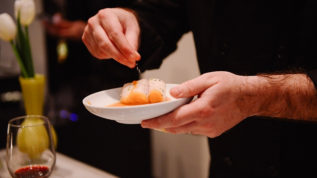 """מנה של השף אבי ביטון ב""""בית מזל טלה"""" (צילום: יח""""צ) (צילום: יח"""