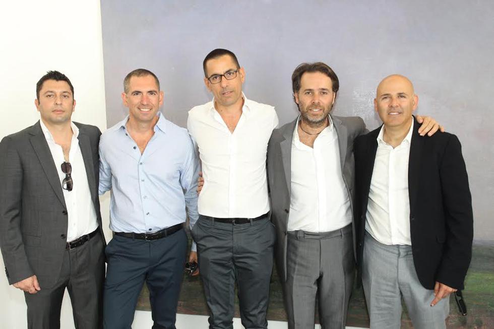 אסי טוכמאייר, ברק רוזן, אילן קפון, צחי ארבוב, זיו יעקביץ (צילום: רפי דלויה)