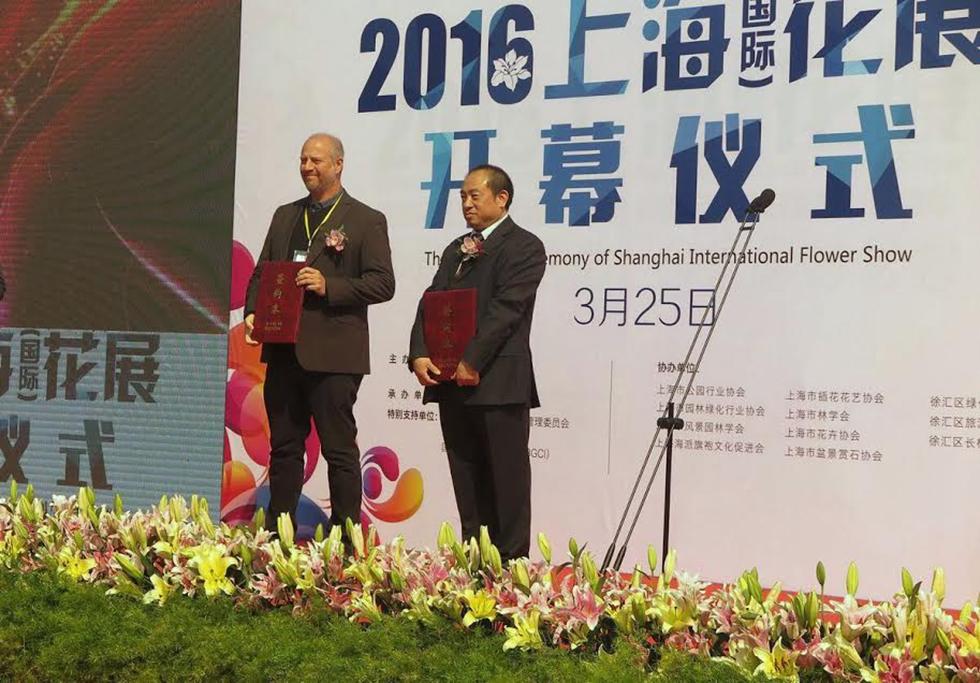 """שואנג פנג וד""""ר אורי פרגמן ספיר (צילום: יח""""צ)"""