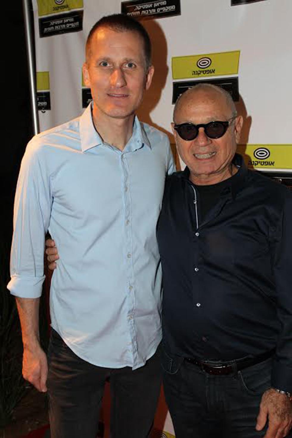 מאיר רסין ואסף שניר (צילום: רפי דלויה)
