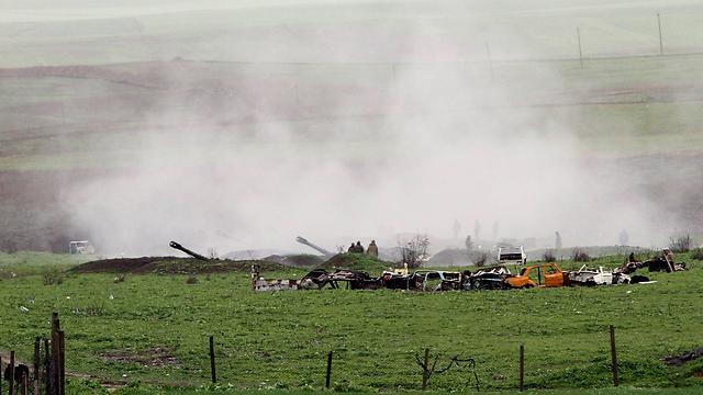 הצבא הארמני בנגורנו-קרבאך (צילום: EPA) (צילום: EPA)