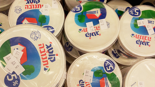 Cottage cheese marketed by Tnuva in Israel is plain, whereas the American version offers many fruit toppings