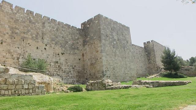 """שלושת השבועות שלפנינו, מ-י""""ז בתמוז שחל היום, ומציין את בקיעת חומות ירושלים, ועד לשיאם ב-ט' באב, היום שבו חרב בית המקדש, מכונים """"ימי בין המצרים"""".  (צילום: אלי מנדלבאום)"""