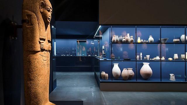 """מתוך התערוכה החדשה: """"פרעה בכנען: הסיפור שלא סופר"""" (צילום: אלי פוזנר) (צילום: אלי פוזנר)"""